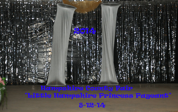 """The 58th Hampshire County Fair """"Little Hampshire Princess Pageant"""" 8-12-14"""